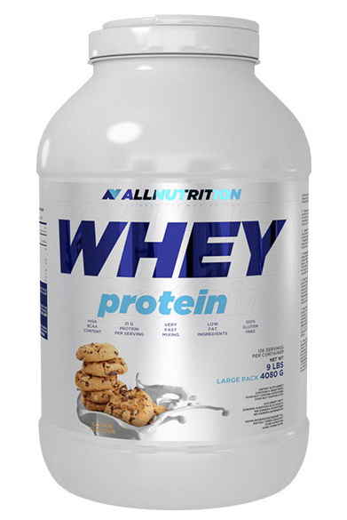 Протеин All Nutrition Whey Protein 4,08 kg