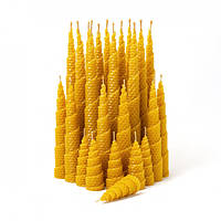 Набор Свечей Восковых Eco Candles Спираль 24 шт. (26х3 см), эко свечи из вощины