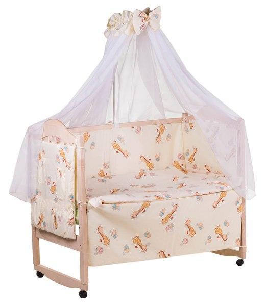 Детская постель Qvatro Gold RG-08 рисунок  бежевый (жирафик)