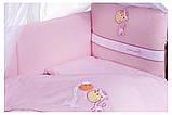 Детская постель Tuttolina Forever Together (7 элементов) 37 розовый (жирафы), фото 2
