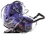 Дождевик для универсальной коляски Qvatro DQB-2 силикон, большой, фото 2
