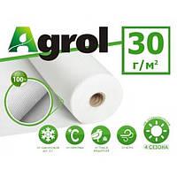 Агроволокно белое 1,6 x 100 м плотность 30 г/м. кв. Agrol