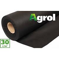 Агроволокно черное 3,2 x 100 м плотность 30 г/м. кв. мульчирующее Agrol