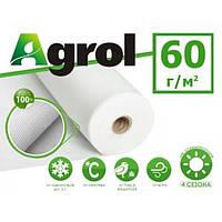 Агроволокно белое 1,6 x 100 м плотность 60 г/м. кв. Agrol