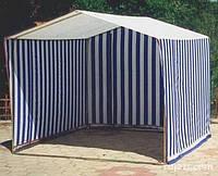 Палатка торговая  2 х 2,5 м с каркасом