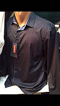 Мужские турецкие нарядные рубашки Амато с шёлком