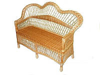Плетеной диван из лозы Код 18975