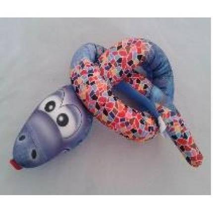 Антистресова іграшка м`яконабивна DT-ST-01-58 SOFT TOYS Змійка, фото 2