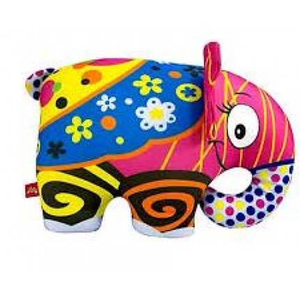 Антистресова іграшка м`яконабивна DT-ST-01-59 SOFT TOYS Слон різнокольоровий, фото 2