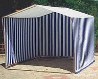 Палатка торговая  2 х 2 м с каркасом