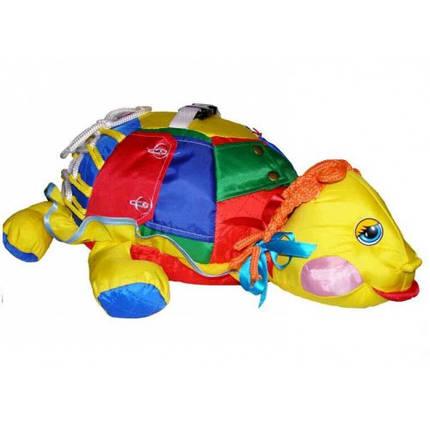 Дидактична іграшка ЧЕРЕПАШКА, фото 2