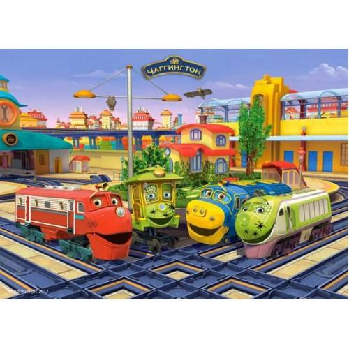 Пазл Касторленд 120 (12155) Потяги 32*23 см