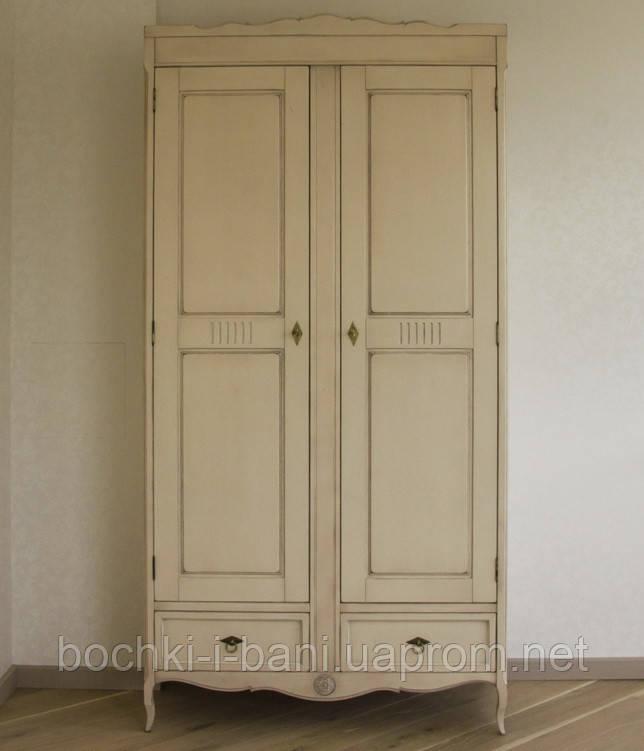 Шкаф платяной двустворчатый