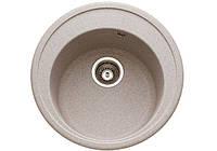 Кухонная  круглая гранитная мойка LONGRAN ULTRA ULS 510