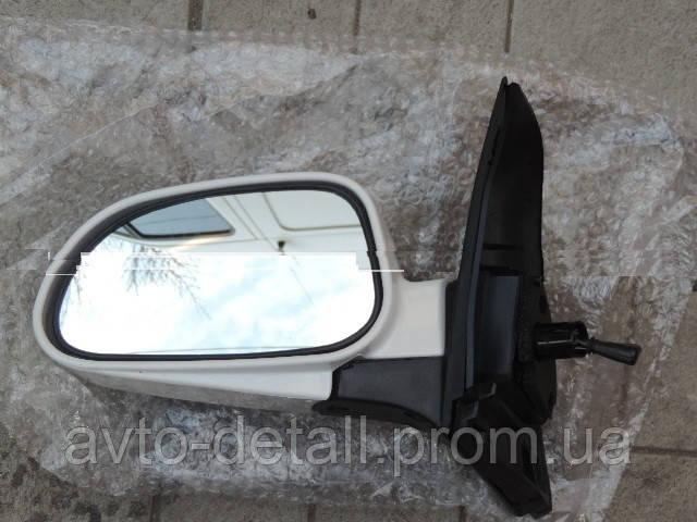 Зеркало наружное  механическое  в сборе  левое Лачетти