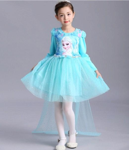Детское нарядное платье   140
