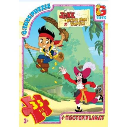 Пазли G-Toys 35 (783) Джейк та пірати Нетландії, фото 2