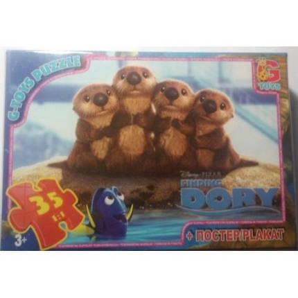 Пазли G-Toys 35 (953) Немо/ в пошуках рибки Дори, фото 2