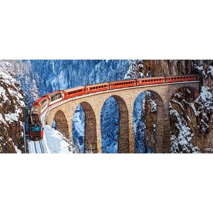 Пазл Касторленд 600 (016) Швейцарські Альпи 68*30 см, фото 2