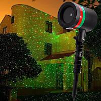 Уличный лазерный проектор Star Shower Laser Light, мини лазер Стар Шовер, фото 1