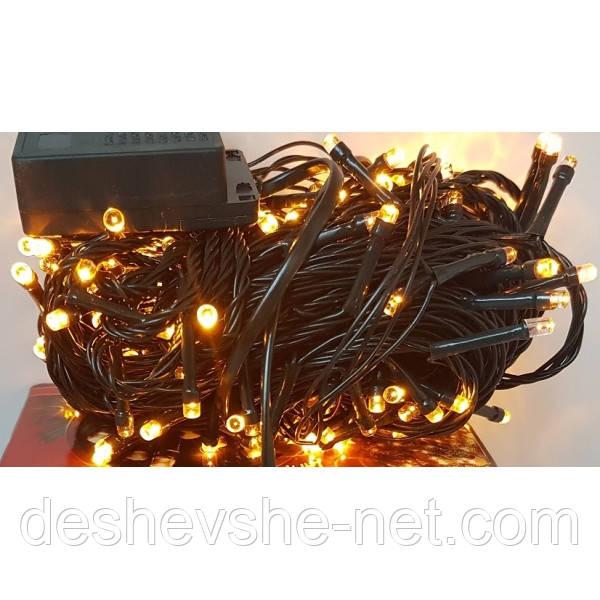 Гирлянда на 500 LED желтая