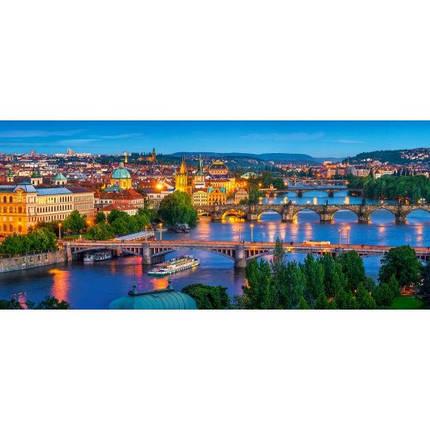 Пазл Касторленд 600 (061) Нічна Прага 68*30 см, фото 2