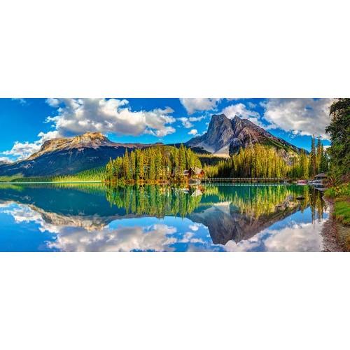 Пазл Касторленд 600 (092) Смарагдове озеро 68*30 см