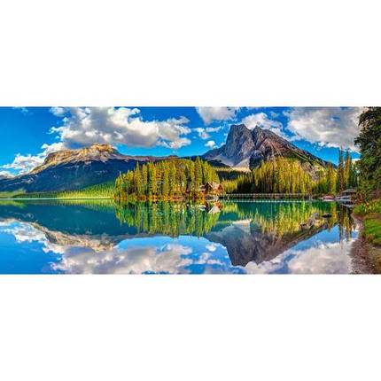 Пазл Касторленд 600 (092) Смарагдове озеро 68*30 см, фото 2
