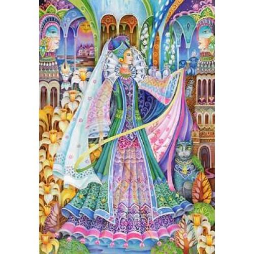 Пазл Касторленд 1500 (1011) Королева 68*47 см