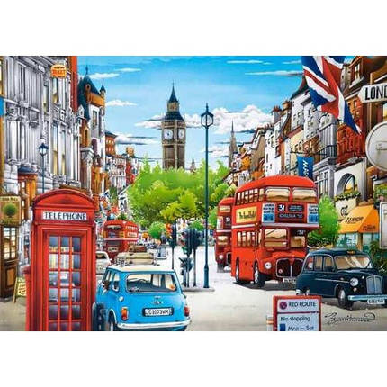 Пазл Касторленд 1500 (1271) Лондон 68*47 см, фото 2