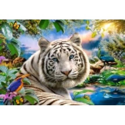 Пазл Касторленд 1500 (1318) Білий тигр 68*47 см, фото 2