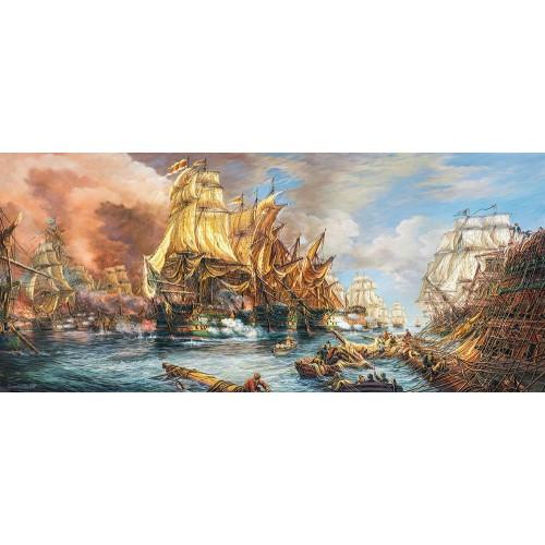 Пазл Касторленд 600 (252) Битва на морі 68*30 см