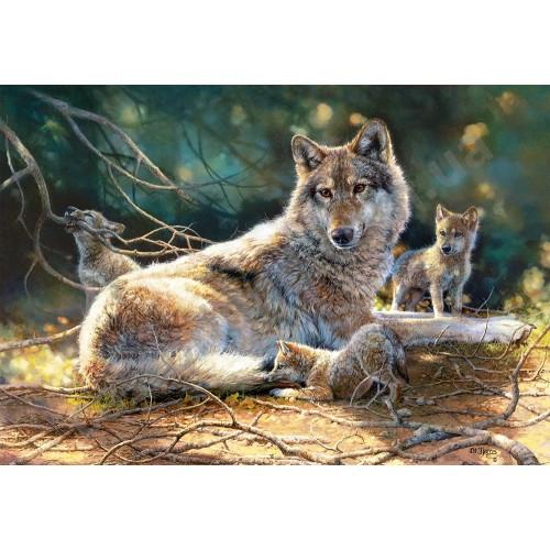Пазл Касторленд 1500 (1400) Вовки 68*47 см