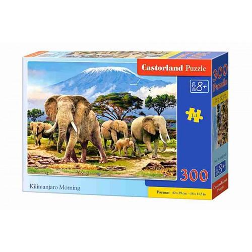 Пазл Касторленд 300 (019) Слони 40*29 см