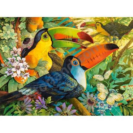 Пазл Касторленд 3000 (433) Пташки 92*68 см, фото 2