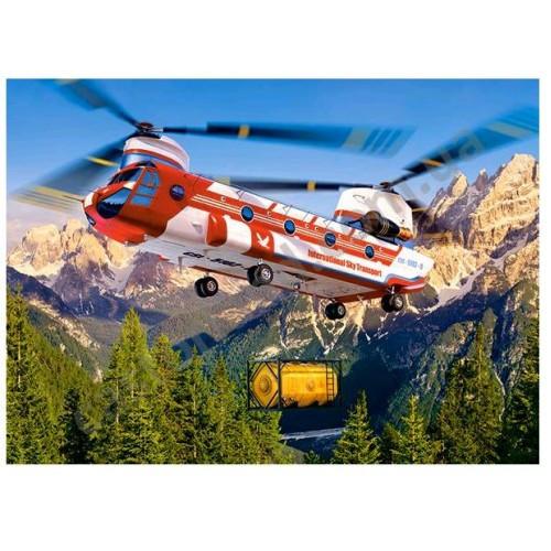 Пазл Касторленд 300 (125) Вертоліт амфібія 40*29 см