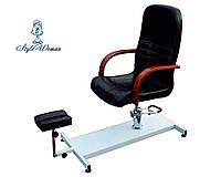 Крісло з триногою для педикюру з піддоном Педикюрне крісло, фото 1