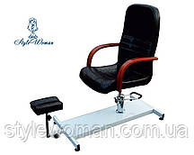 Крісло з триногою для педикюру з піддоном Педикюрне крісло