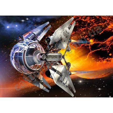 Пазл Касторленд 300 (163) Космічний корабель 32*23 см, фото 2