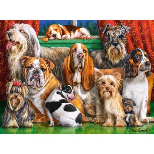Пазл Касторленд 3000 (501) Собаки 92*68 см