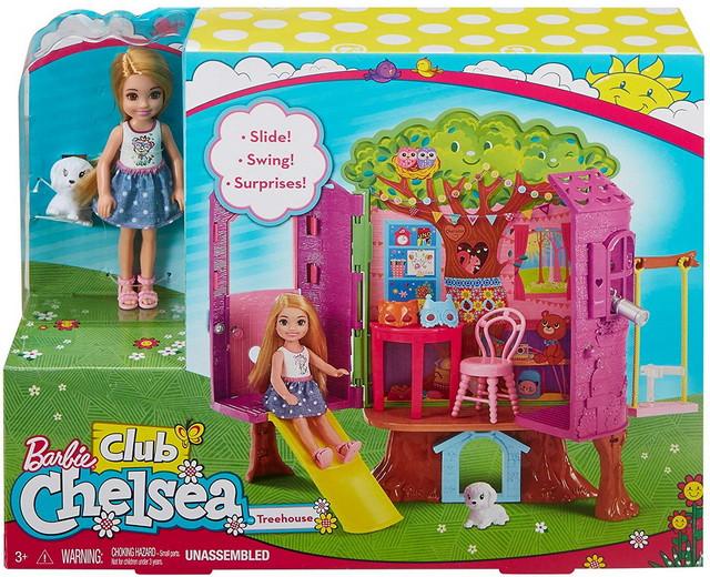 домик на дереве для челси Chelsea Doll and Treehouse FPF83