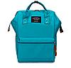Женский рюкзак сумка городской школьный Living Зеленый