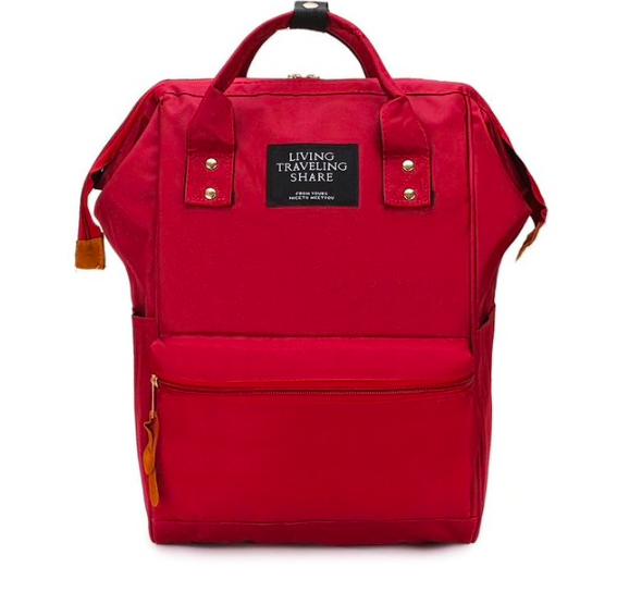 Женский рюкзак сумка городской школьный Living Красный