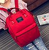 Жіночий сумка рюкзак міський шкільний Living Червоний, фото 2