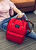 Женский рюкзак сумка городской школьный Living Красный, фото 4