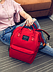 Жіночий сумка рюкзак міський шкільний Living Червоний, фото 4
