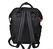 Женский рюкзак сумка городской школьный Living Черный, фото 5