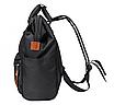 Женский рюкзак сумка городской школьный Living Черный, фото 6