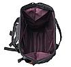 Женский рюкзак сумка городской школьный Living Черный, фото 7