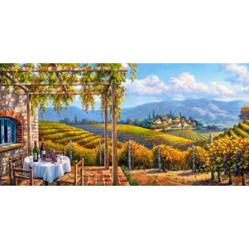 Пазл Касторленд 4000 (249) Виноградник 138*68см